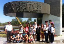 Юные казаки Карачаево-Черкесии на Зелёном острове