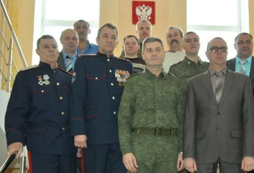 В Волгоградской области казаки по примеру предков охраняют границу