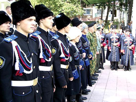 В Дагестане 18 казаков Терского войскового казачьего общества приняли присягу