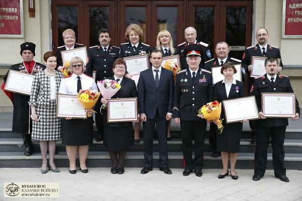 Награждены лучшие директора, учителя казачьих школ, казаки-наставники