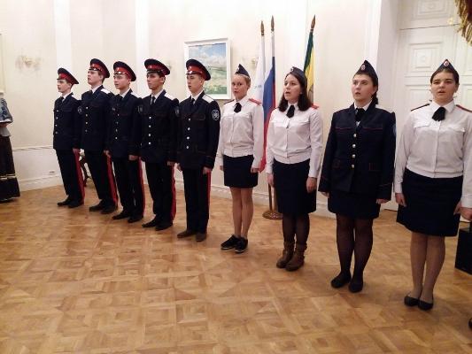 В Пензе студентов посвятили в казаки