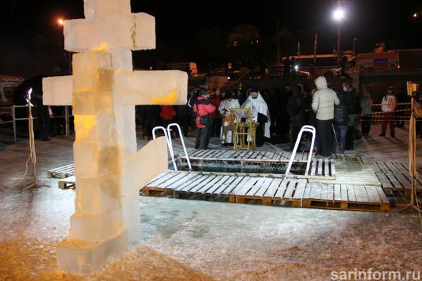 В крещенские купели окунулись 13 тысяч саратовцев