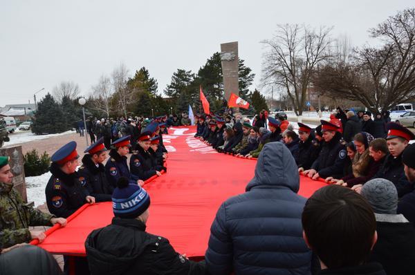 В память о героях битвы за Кавказ