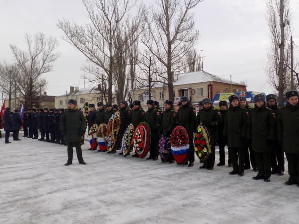 В Миллерово почтили память освободителей